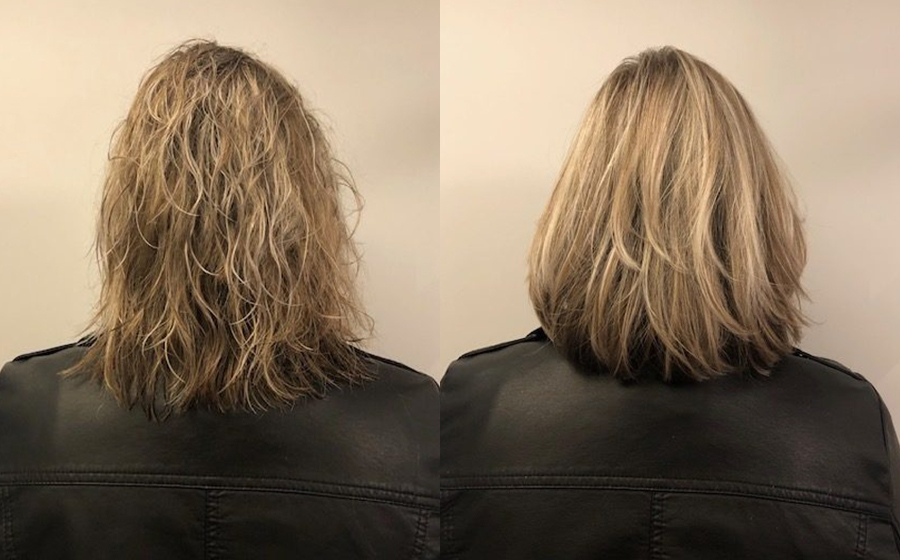 Balance & Shine - Before and after - Judith