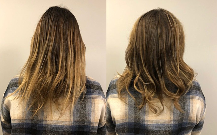 Balance & Shine - Before and after - Melanie