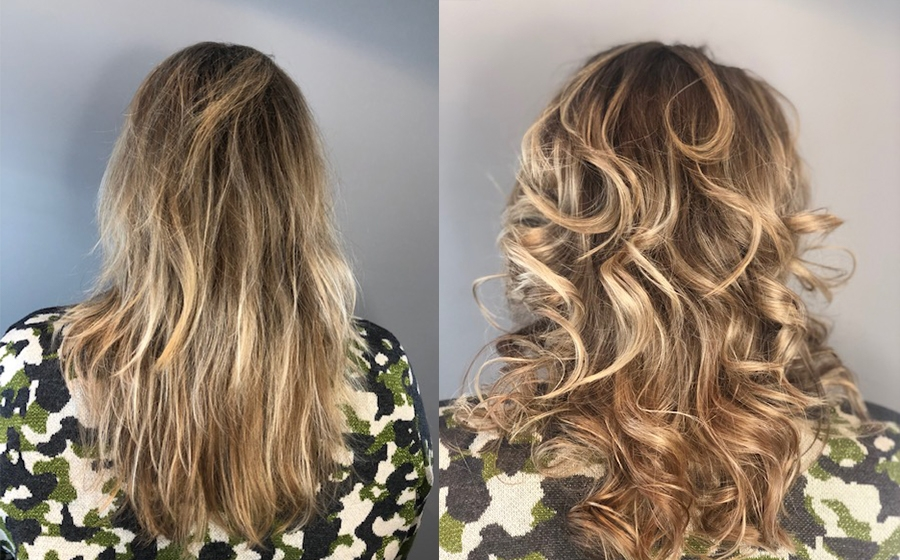 Balance & Shine - Before and after - Ellen
